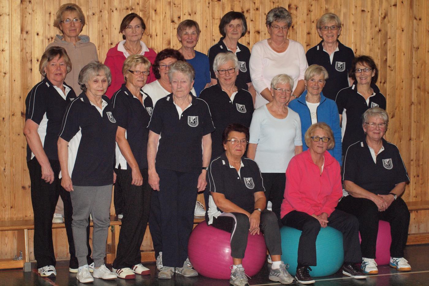 Frauen-Gymnastik Montagsgruppe